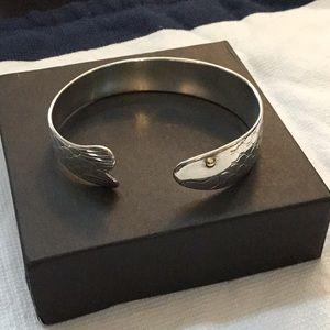 Eden Hand Arts Cape Cod Herring Fish Cuff bracelet